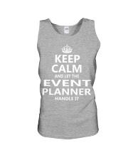 Event Planner Unisex Tank thumbnail