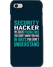 Security Hacker Phone Case thumbnail