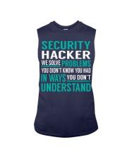 Security Hacker Sleeveless Tee thumbnail