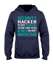 Security Hacker Hooded Sweatshirt thumbnail