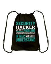 Security Hacker Drawstring Bag thumbnail