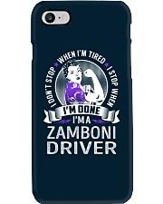Zamboni Driver Phone Case thumbnail