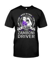 Zamboni Driver Classic T-Shirt front