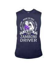 Zamboni Driver Sleeveless Tee thumbnail