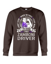 Zamboni Driver Crewneck Sweatshirt thumbnail