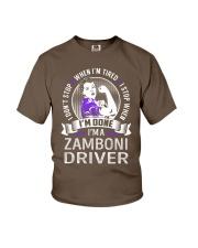 Zamboni Driver Youth T-Shirt thumbnail