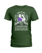 Zamboni Driver Ladies T-Shirt thumbnail