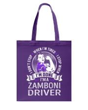 Zamboni Driver Tote Bag thumbnail