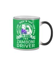Zamboni Driver Color Changing Mug thumbnail