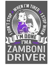 Zamboni Driver 11x17 Poster thumbnail