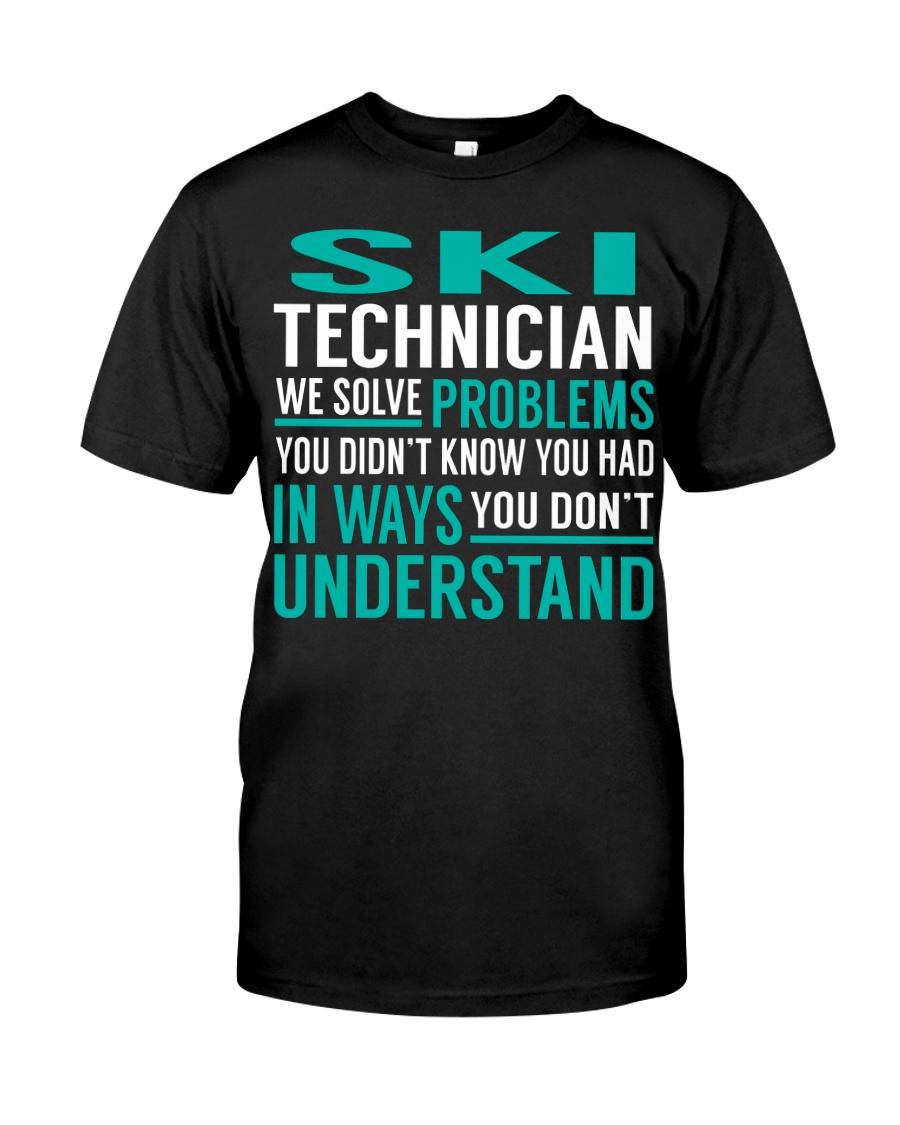 Ski Technician Classic T-Shirt