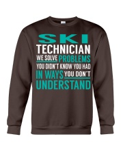 Ski Technician Crewneck Sweatshirt thumbnail