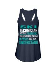 Ski Technician Ladies Flowy Tank thumbnail