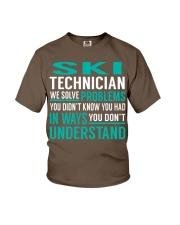 Ski Technician Youth T-Shirt thumbnail