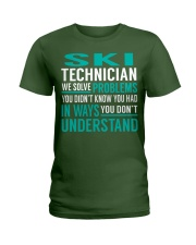 Ski Technician Ladies T-Shirt thumbnail