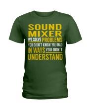 Sound Mixer Ladies T-Shirt thumbnail