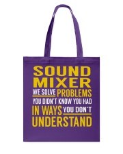 Sound Mixer Tote Bag thumbnail