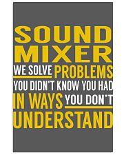 Sound Mixer 11x17 Poster thumbnail