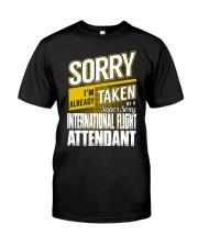 International Flight Attendant Classic T-Shirt front
