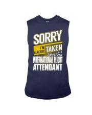 International Flight Attendant Sleeveless Tee thumbnail
