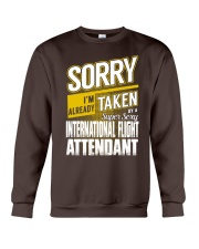International Flight Attendant Crewneck Sweatshirt thumbnail