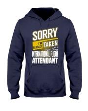 International Flight Attendant Hooded Sweatshirt thumbnail