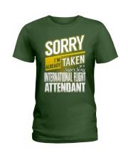 International Flight Attendant Ladies T-Shirt thumbnail