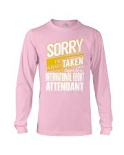 International Flight Attendant Long Sleeve Tee thumbnail