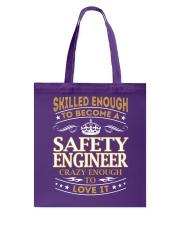 Safety Engineer Tote Bag thumbnail