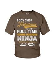 Body Shop Technician Youth T-Shirt thumbnail