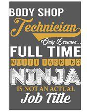 Body Shop Technician 11x17 Poster thumbnail