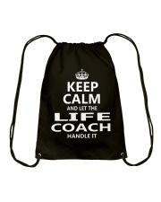 Life Coach Drawstring Bag thumbnail