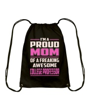 College Professor Drawstring Bag tile