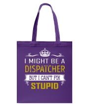 Dispatcher Tote Bag thumbnail
