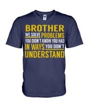 Brother V-Neck T-Shirt thumbnail