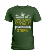 Systems Specialist Ladies T-Shirt thumbnail
