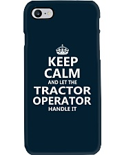 Tractor Operator Phone Case thumbnail