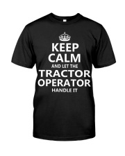 Tractor Operator Classic T-Shirt front