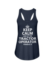 Tractor Operator Ladies Flowy Tank thumbnail