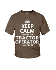 Tractor Operator Youth T-Shirt thumbnail