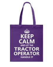 Tractor Operator Tote Bag thumbnail