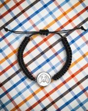 Dachshund  Cord Circle Bracelet aos-bracelet-cord-front-lifestyle-9