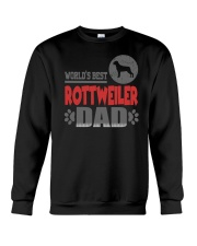 WORLD'S BEST ROTTWEILER DAD Crewneck Sweatshirt thumbnail