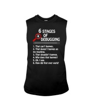 Programmer Developer - 6 stages of bug Sleeveless Tee thumbnail