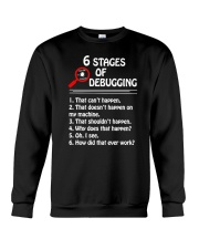 Programmer Developer - 6 stages of bug Crewneck Sweatshirt thumbnail