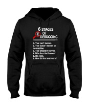 Programmer Developer - 6 stages of bug Hooded Sweatshirt thumbnail