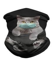 Cat face mask in pocket Neck Gaiter thumbnail