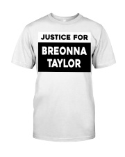 Justice for Breonna Taylor yard sign Classic T-Shirt tile