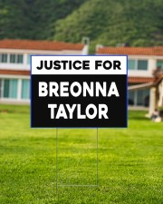 Justice for Breonna Taylor yard sign 24x18 Yard Sign aos-yard-sign-24x18-lifestyle-front-03