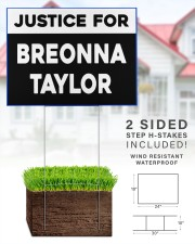 Justice for Breonna Taylor yard sign 24x18 Yard Sign aos-yard-sign-24x18-lifestyle-front-28